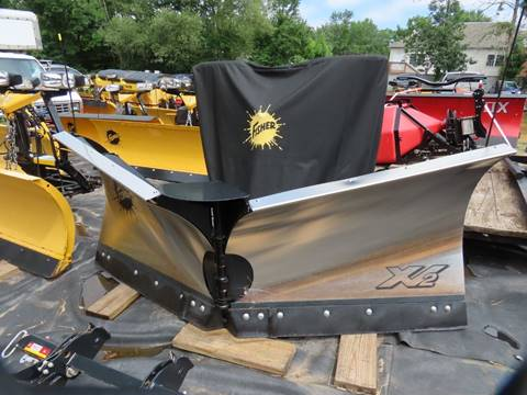 2018 Used Fisher Plow 8.6 XV2 for sale in Cromwell, CT