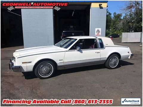 1985 Oldsmobile Toronado for sale in Cromwell, CT