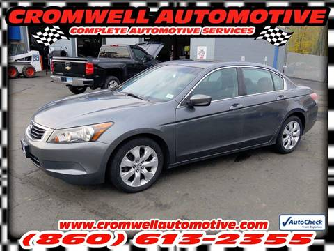 2008 Honda Accord for sale in Cromwell, CT