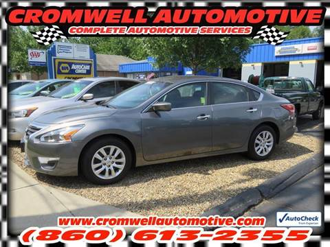 2014 Nissan Altima for sale in Cromwell, CT