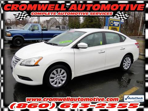 2014 Nissan Sentra for sale in Cromwell, CT