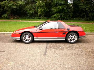 1985 Pontiac Fiero for sale at Maverick Enterprises in Pollock SD