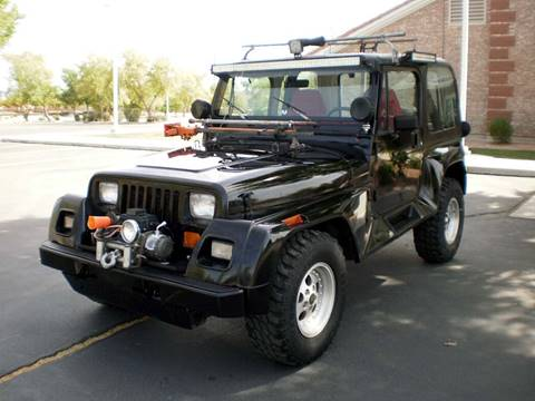 1991 Jeep Wrangler for sale at Maverick Enterprises in Pollock SD