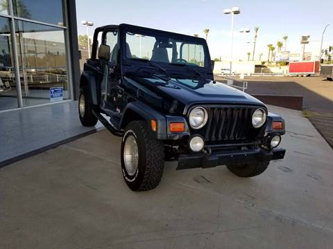 2000 Jeep Wrangler for sale at Maverick Enterprises in Pollock SD