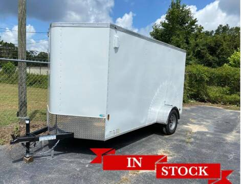 2020 6 x 12 SA - One Piece Roof Custom for sale at Grizzly Trailers in Fitzgerald GA