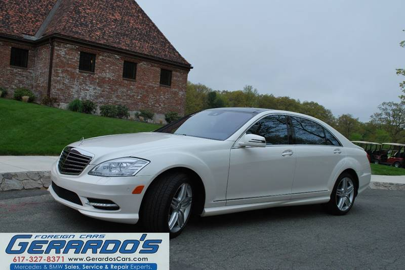 2013 Mercedes-Benz S-Class AWD S 550 4MATIC 4dr Sedan - Roslindale MA