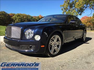 2011 Bentley Mulsanne for sale in Roslindale, MA
