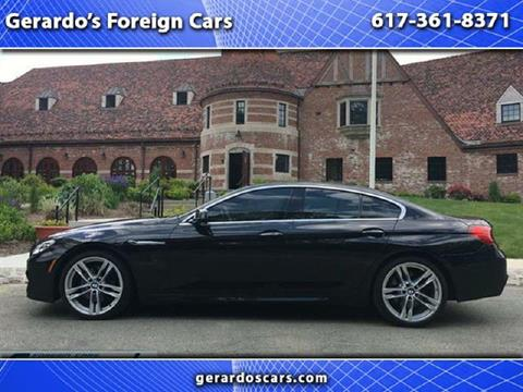 2013 BMW 6 Series for sale in Roslindale, MA