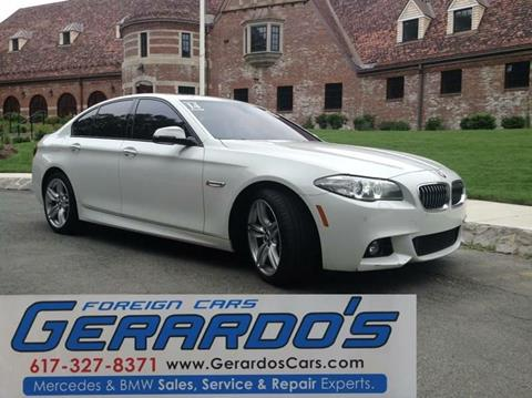 2014 BMW 5 Series for sale in Roslindale, MA
