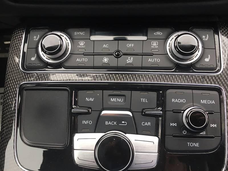 2013 Audi S8 AWD 4.0T quattro 4dr Sedan - Roslindale MA