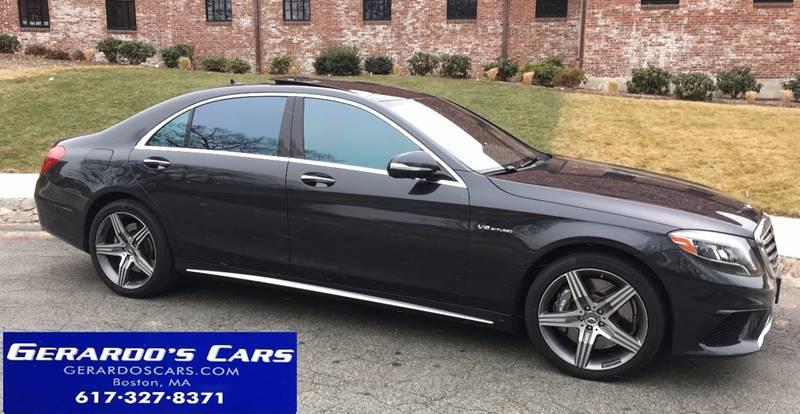 2014 Mercedes-Benz S-Class AWD S 63 AMG 4MATIC 4dr Sedan - Roslindale MA