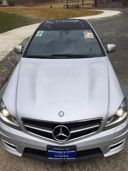 2012 Mercedes-Benz C-Class C 63 AMG 2dr Coupe - Roslindale MA