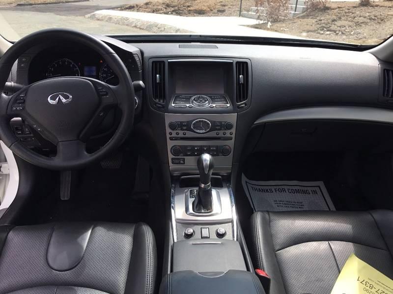 2013 Infiniti G37 Sedan AWD x 4dr Sedan - Roslindale MA
