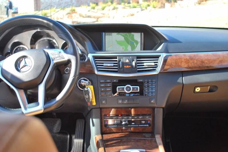 2013 Mercedes-Benz E-Class AWD E 350 Sport 4MATIC 4dr Sedan - Roslindale MA