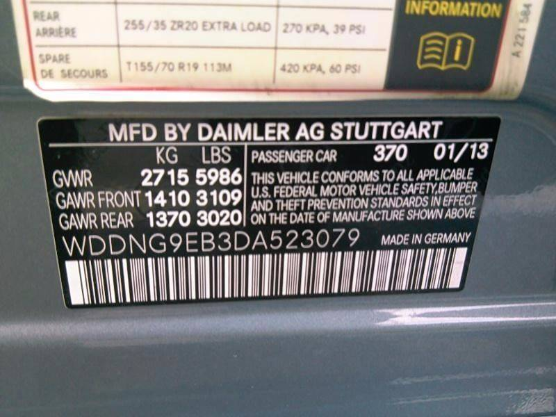 2013 Mercedes-Benz S-Class AWD S 550 4MATIC 4dr Sedan - Roslindale MA