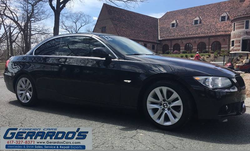 2012 BMW 3 Series 328i 2dr Convertible SULEV - Roslindale MA