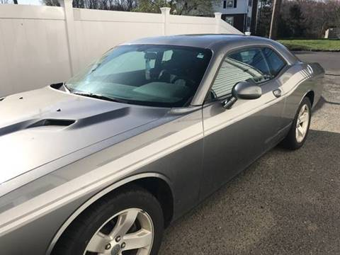 2012 Dodge Challenger for sale at BORGES AUTO CENTER, INC. in Taunton MA