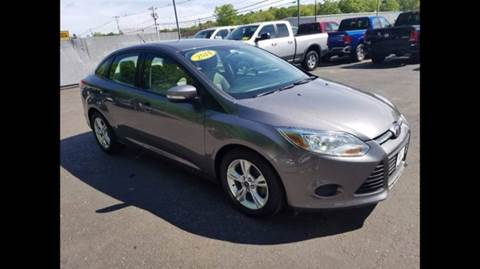 2014 Ford Focus for sale at BORGES AUTO CENTER, INC. in Taunton MA