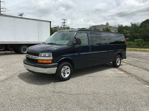 2008 Chevrolet Express Passenger for sale at BORGES AUTO CENTER, INC. in Taunton MA
