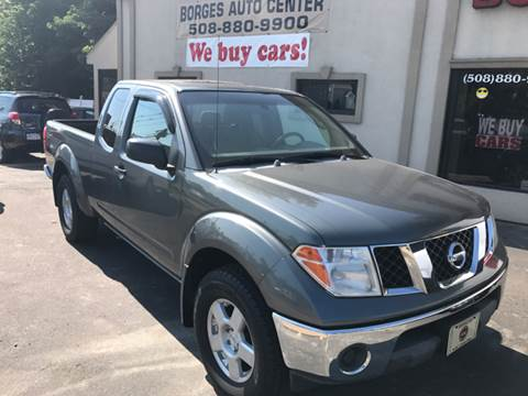2005 Nissan Frontier for sale at BORGES AUTO CENTER, INC. in Taunton MA