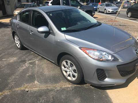 2013 Mazda MAZDA3 for sale at BORGES AUTO CENTER, INC. in Taunton MA