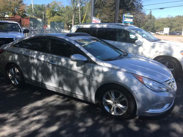 2011 Hyundai Sonata for sale at BORGES AUTO CENTER, INC. in Taunton MA
