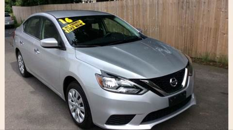 2016 Nissan Sentra for sale at BORGES AUTO CENTER, INC. in Taunton MA