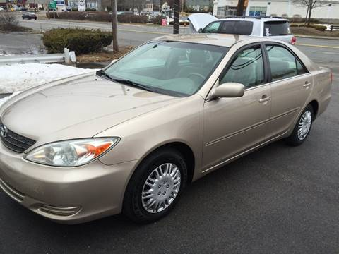 2002 Toyota Camry for sale at BORGES AUTO CENTER, INC. in Taunton MA