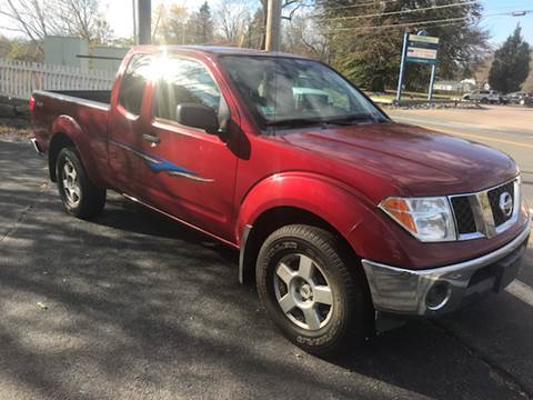 2007 Nissan Frontier for sale at BORGES AUTO CENTER, INC. in Taunton MA