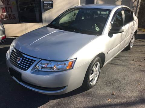 2007 Saturn Ion for sale at BORGES AUTO CENTER, INC. in Taunton MA