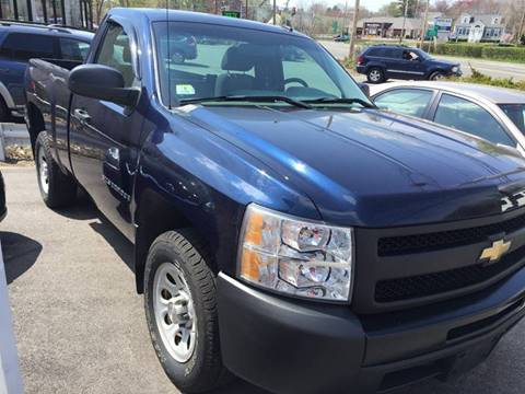 2009 Chevrolet Silverado 1500 for sale at BORGES AUTO CENTER, INC. in Taunton MA