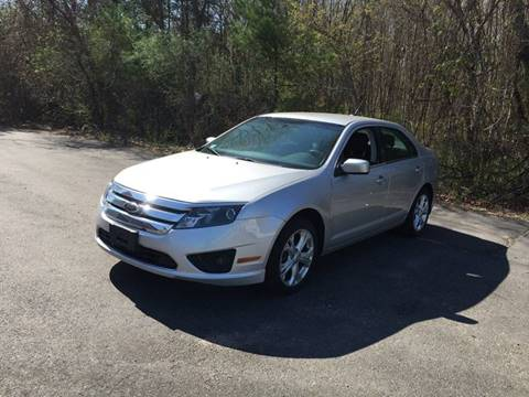 2012 Ford Fusion for sale at BORGES AUTO CENTER, INC. in Taunton MA