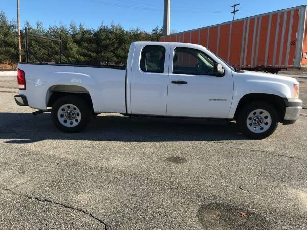2010 gmc sierra 1500 4x2 work truck 4dr extended cab 6 5 ft sb in taunton ma borges auto. Black Bedroom Furniture Sets. Home Design Ideas