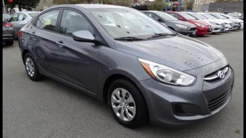 2015 Hyundai Accent for sale at BORGES AUTO CENTER, INC. in Taunton MA