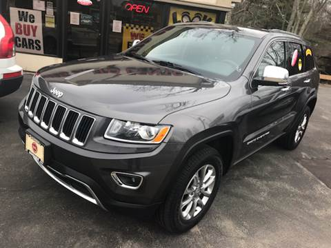 2014 Jeep Grand Cherokee for sale at BORGES AUTO CENTER, INC. in Taunton MA