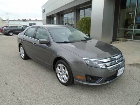 2011 Ford Fusion for sale at BORGES AUTO CENTER, INC. in Taunton MA