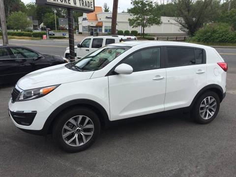 2014 Kia Sportage for sale at BORGES AUTO CENTER, INC. in Taunton MA