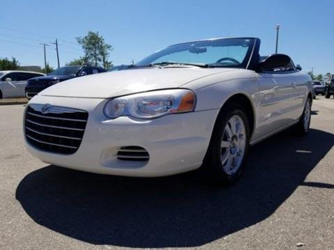 2005 Chrysler Sebring for sale at BORGES AUTO CENTER, INC. in Taunton MA