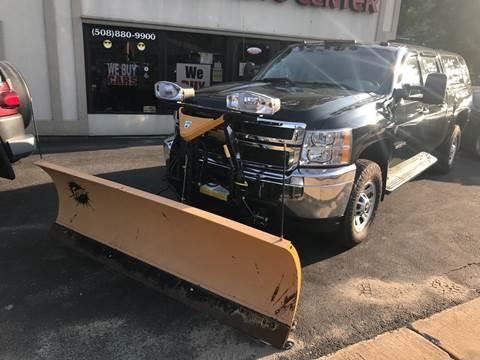 2013 Chevrolet Silverado 3500HD for sale at BORGES AUTO CENTER, INC. in Taunton MA