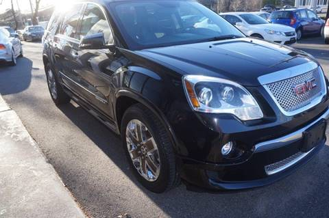 2011 GMC Acadia for sale at BORGES AUTO CENTER, INC. in Taunton MA