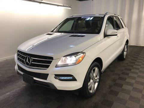 2014 Mercedes-Benz M-Class for sale at BORGES AUTO CENTER, INC. in Taunton MA