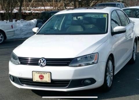 2011 Volkswagen Jetta for sale at BORGES AUTO CENTER, INC. in Taunton MA