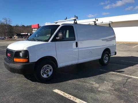 2010 GMC Savana Cargo for sale at BORGES AUTO CENTER, INC. in Taunton MA