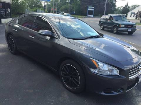 2011 Nissan Maxima for sale at BORGES AUTO CENTER, INC. in Taunton MA