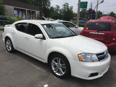 2011 Dodge Avenger for sale at BORGES AUTO CENTER, INC. in Taunton MA