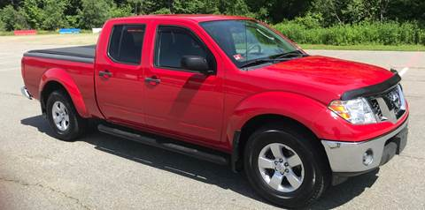2010 Nissan Frontier for sale at BORGES AUTO CENTER, INC. in Taunton MA