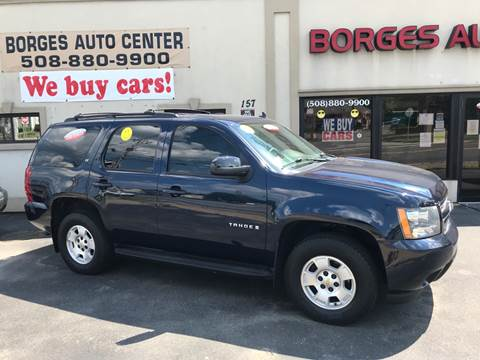 2009 Chevrolet Tahoe for sale at BORGES AUTO CENTER, INC. in Taunton MA