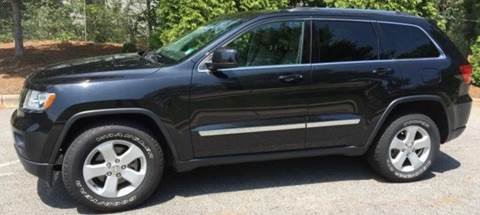 2013 Jeep Grand Cherokee for sale at BORGES AUTO CENTER, INC. in Taunton MA