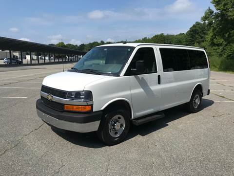 2015 Chevrolet Express Passenger for sale at BORGES AUTO CENTER, INC. in Taunton MA