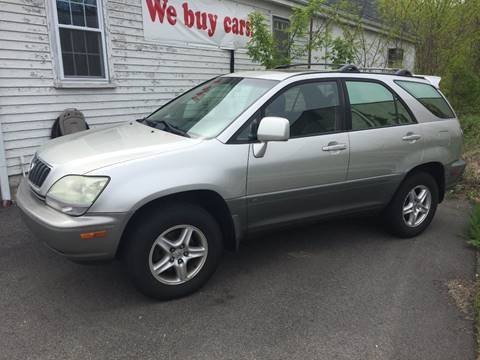 2001 Lexus RX 300 for sale at BORGES AUTO CENTER, INC. in Taunton MA